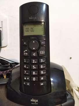Teléfono inalámbrico NOBLEX