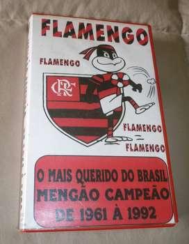 RARO VHS VIDEO FLAMENGO O MAIS QUERIDO DO BRASIL . MENGAO CAMPEON 1961 A 1992