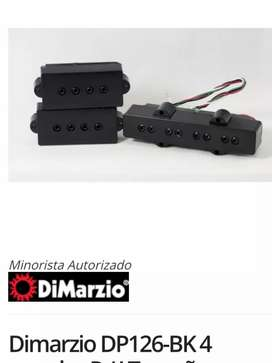 Set microfonos bajo Dimarzio dp 126 jazz presicion