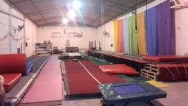 Alquilo salón para usos múltiples, Gym, depósito, etc.