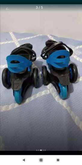 Patines Adaptables de 4 ruedas