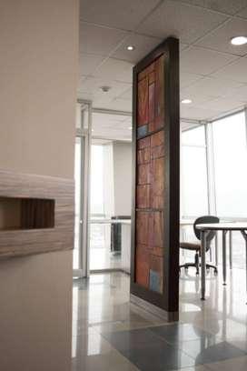 Alquilo Hermosa Oficina Amoblada en El Edificio Blue Towers