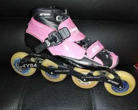 Botas Urban de patines profesionales Canariam usados talla 35