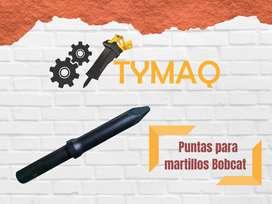 PUNTAS PARA MARTILLOS HIDRAULICOS MONTABERT V1600, POQUTEC PBV80, CAT