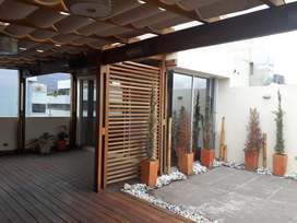Carolina Arriendo Oficina con terraza linda vista