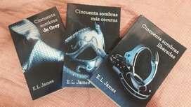 Triología 50 Sombras de Grey (libros)
