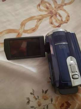 Cámara filmadora Sony de 80gb