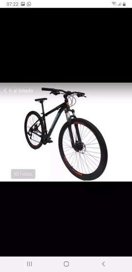 Bicicleta Gw zebra 21 velocidades rin 29 aluminio