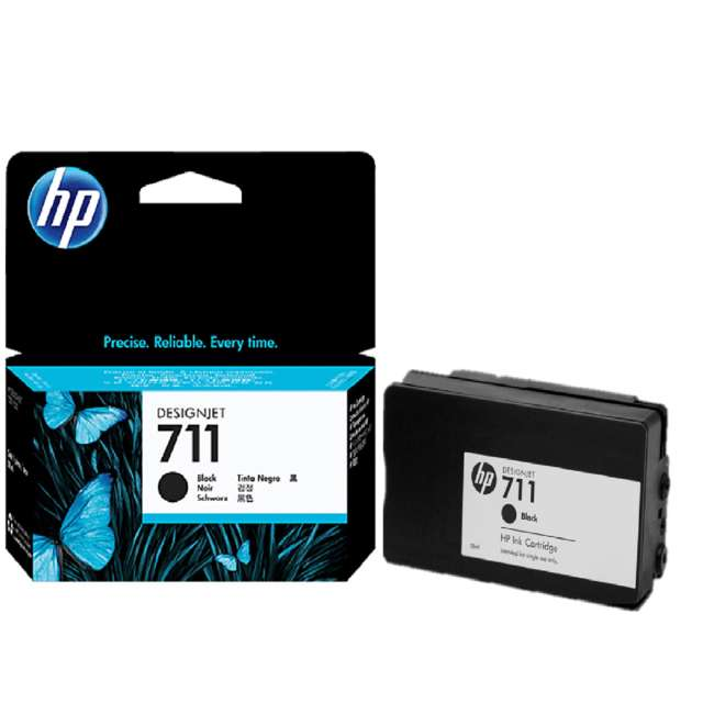 Cartucho Hewlett Packard 711 Negro 0