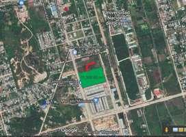 Terreno comercial al costado de mercado minorista de Pucallpa, distrito de Calleria