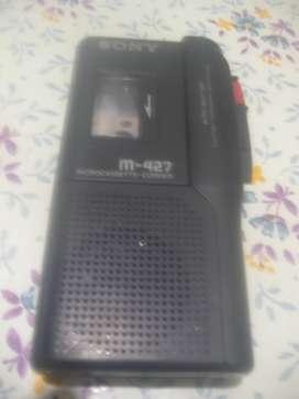 Grabador De Periodista Sony M-427 A Probar!!