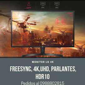 Monitor LG 32UK550-B 4k FreeSync Uhd parlantes