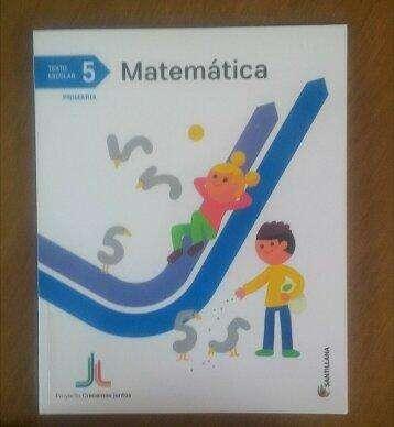 Libro Texto Matematica5 Santillana Nuevo 0