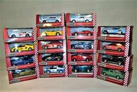 Carros de colección a escala metálicos