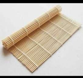 Esterilla de Bambu para Maki Sushi roll 24Cm cocina comida oriental