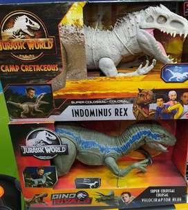 Jurassic world colosal blue , indominus rex