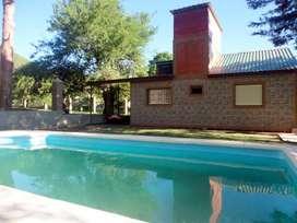 df78 - Casa para 4 a 6 personas con pileta y cochera en Bialet Massé
