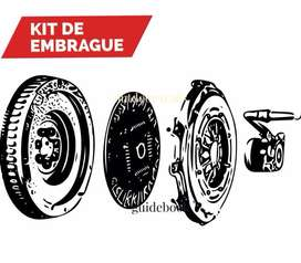 Kit de Embrague volante xtrail Navara sentra SE Sport Amarok Pathfinder, Tucson Kia Sportage,Mazda Bt50, Dmax, carnival