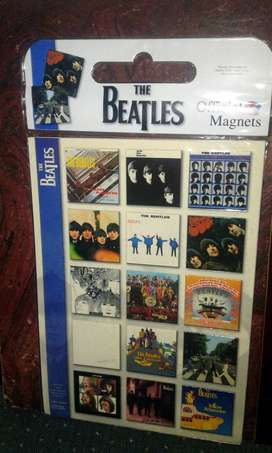 Imanes Oficiales The Beatles