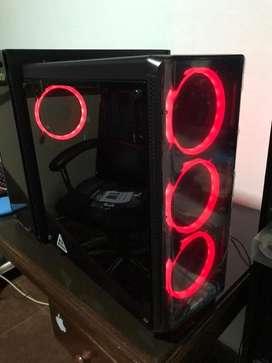 Sentey k20 lite + 4 coolers RGB