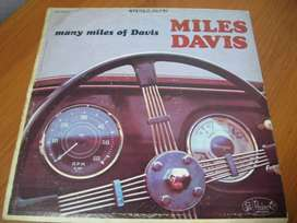 Miles Davis - Many Miles Of Davis Lp 1962 Vg En Martinez