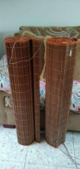 Cortina en Bambú