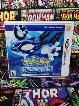 Pokemon Alpha Shapphire Para Consola Nintendo 3ds, juego sellado
