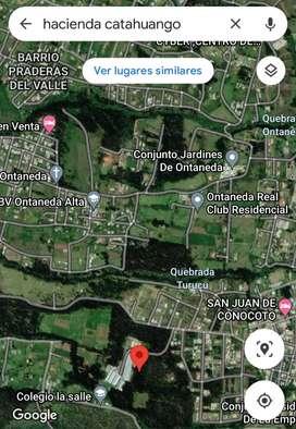 Vendo Terreno 10mil Metros Cuadrados sector Amaguaña