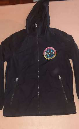 Campera Hombre Pull&Bear Rompeviento Talle M