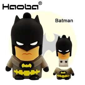 Memoria Usb 16 Gb Con Diseño Batman, Especial para Regalo