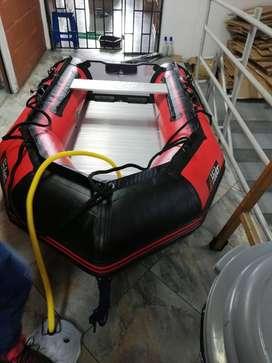 Bote Inflable de pesaca deportiva En Pvc Con Piso De Aluminio-marca Hider Importado directamente