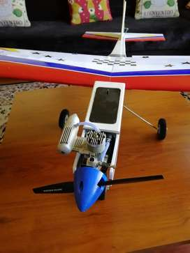 Aeromodelo avión sonic motor os25