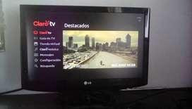 Tv 22 lg con mando