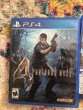 Juegos PlayStation Ps4 Resident Evil The Last of US