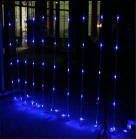 Luz Luces Cortina LED 6 x 5 cajón de 12 unidades
