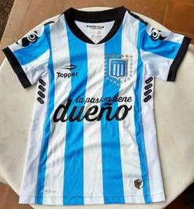 Camiseta de Racing 2015 Topper / Banco Hipotecario Sin Uso 100% Original