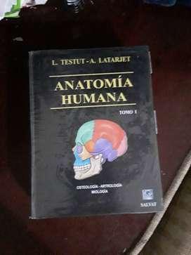 Testut Anatomía Humana, 4 tomos en buen estado
