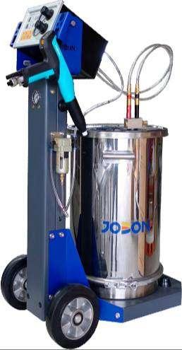Equipo de pintura electrostática de gama alta JOBON   M2 completo, garantía de 2 años con soporte técnico especializado