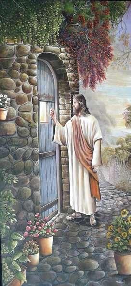 Cuadro Jesus tocando tu puerta 2014