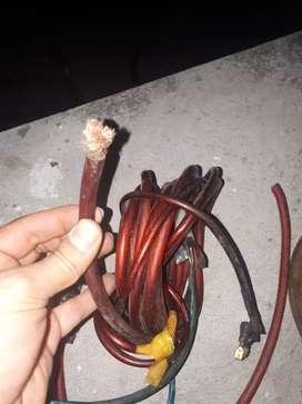 Cable corriente planta batería sonido
