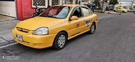 Taxi Kia rio 2013