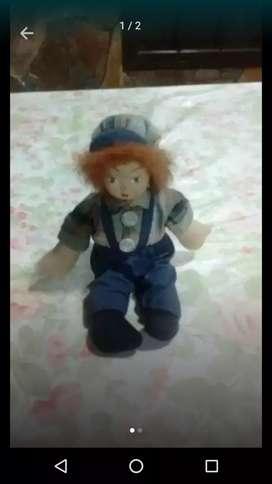 Muñeco cara de porcelana