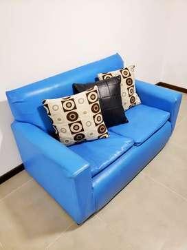 Liquido Urgente Sofa de 2 Cuerpos