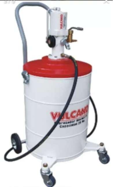 Grasera neumática Vulcano excelente estado 25kg 0