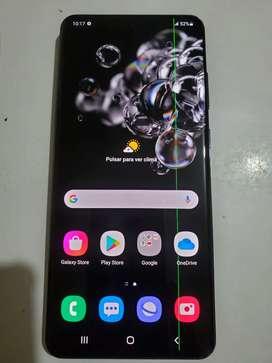 Samsung galaxy s20ultra detalle linea