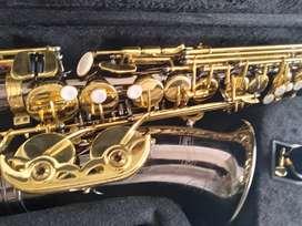 Saxofon alto new orleans Black níquel oro