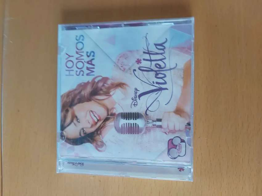 Violetta hoy somos más cd Disney original 13 canciones