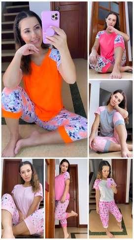 Pijama Capri O Pescador, Multiusos Para Dama