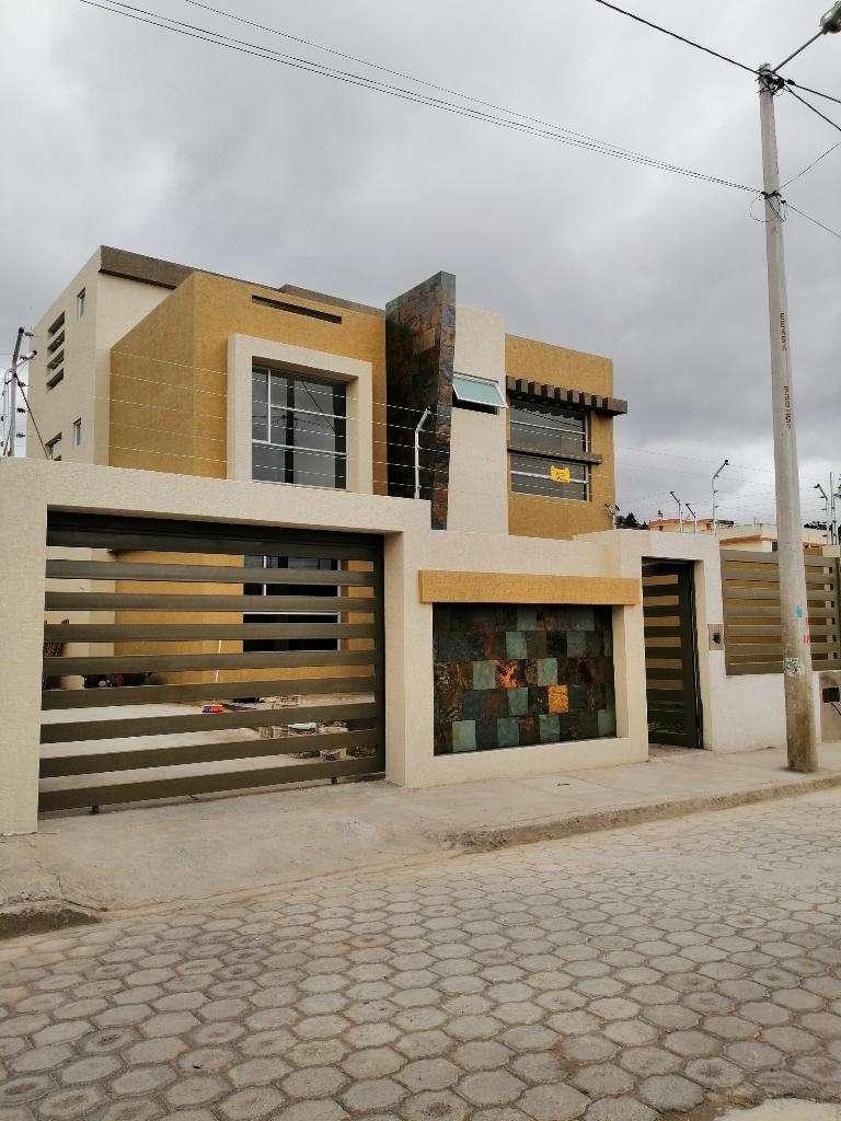 Vendo Hermosa Casa en Huachi Chico 0