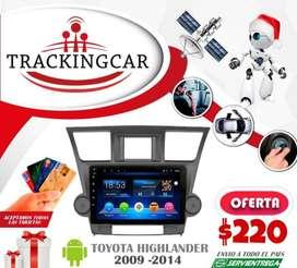 Radio Androide para modelos Toyota. Envío a nivel nacional
